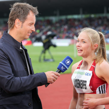 DM: Gina Lückenkemper garniert Gold mit Olympia-Ticket
