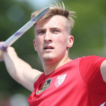 Tom Meier wirft 68,14 Meter beim Comeback