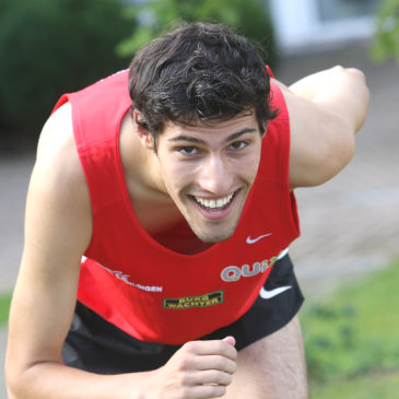 Patrick Zwicker bei U23-DM auf Medaillenjagd
