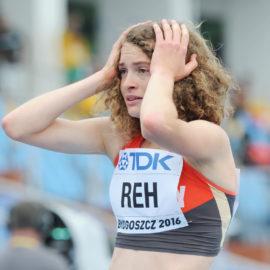 U20-WM: Alina Reh rennt als Neunte deutschen Rekord