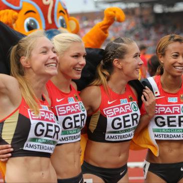 EM: Gina Lückenkemper jubelt über Bronze-Double