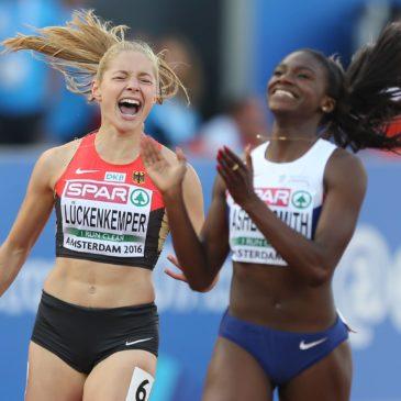 Gina Lückenkemper krönt Wahnsinns-Saison mit EM-Bronze
