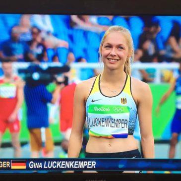 Gina Lückenkemper stürmt ins Olympia-Halbfinale