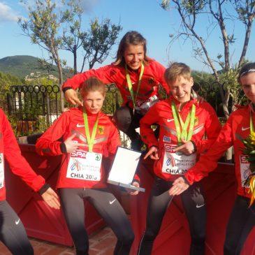 Cross-EM: Team-Silber für Alina Reh und Maya Rehberg