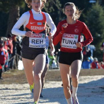 Alina Reh und Maya Rehberg im Cross-EM-Einsatz
