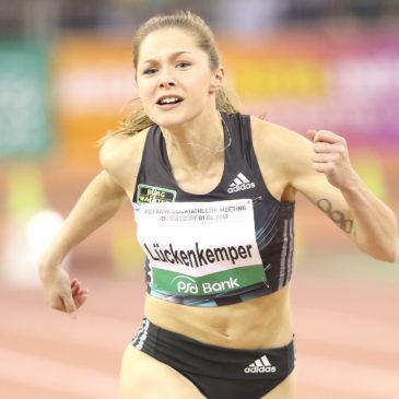 ISTAF Indoor: Gina Lückenkemper stürmt aufs Podest