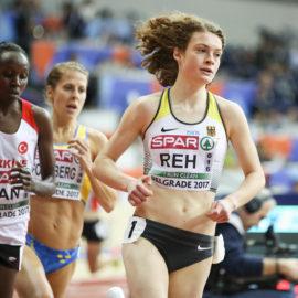Alina Reh bucht bei der Hallen-EM das Final-Ticket