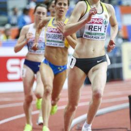 Hallen-EM: Rang acht im ersten großen Finale für Alina Reh