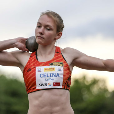Dreikampf beim Deichmeeting: Celina Leffler in solider Form