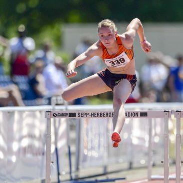 Celina Leffler sprintet Bestzeit beim finalen Siebenkampf-Test