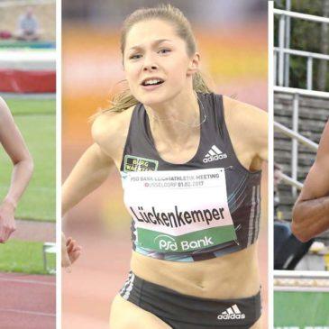 Trackteam-Trio ist bereit für die Team-EM