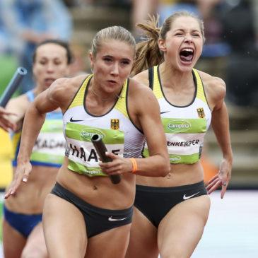 Team-EM: Gina Lückenkemper sprintet auf Platz eins und zwei