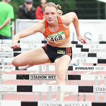 Celina Leffler: Krücken statt Mehrkampf-DM