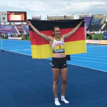 U23-EM: Celina Leffler garniert Bronze mit Bestleistung