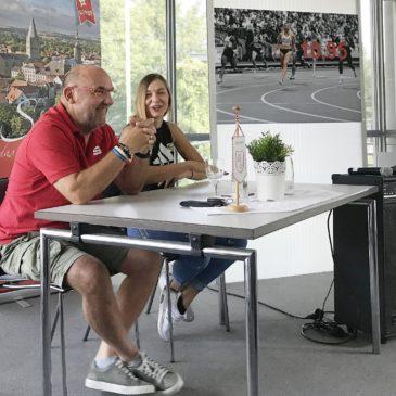 """Trainer Uli Kunst: """"10,95 Sekunden sind noch nicht Ginas Grenze"""""""