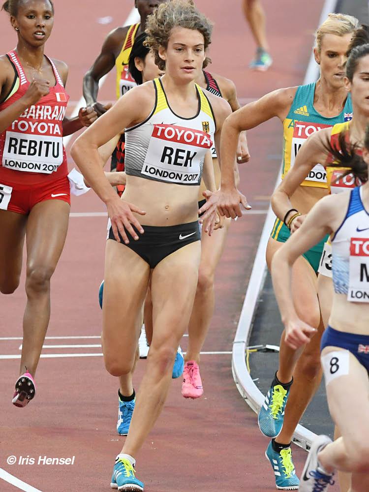 Alina Reh startet in Doha bei ihrer zweiten WM