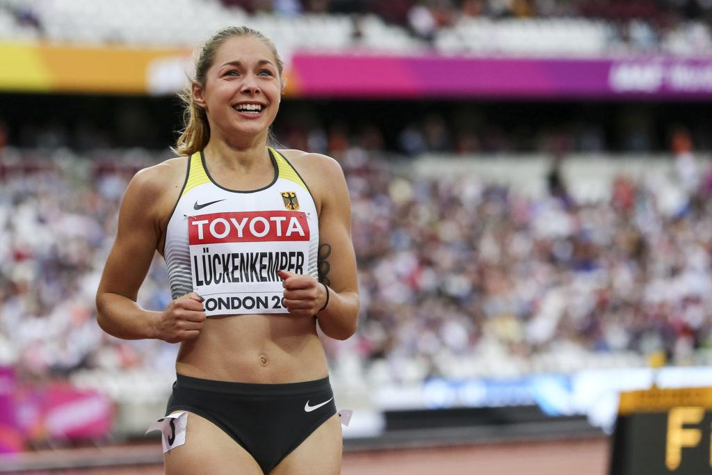 Sprinterin Gina Lückenkemper ist bereit für die WM in Doha