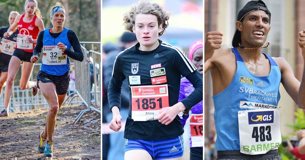 Maya Rehberg, Alina Reh und Amanal Petros starten bei der Cross-EM