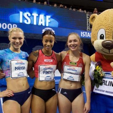 ISTAF Indoor: Nach verpatztem Start noch 7,19 sec für Gina Lückenkemper