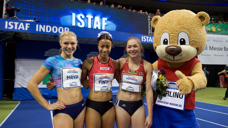 26.01.2018 ISTAF Indoor Leichtathletik - Trackteam