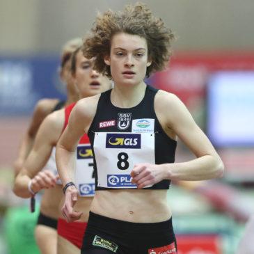 Hallen-DM: Alina Reh läuft mutig auf Platz vier