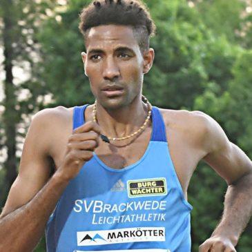 63:30 Minuten: Amanal Petros läuft starkes Halbmarathon-Debüt