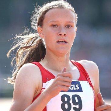 Marie Scheppan mit flottem 400-Meter-Einstand