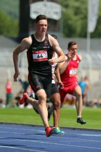 Luis Brandner läuft in Jena 10,48 Sekunden und damit die U20-WM-Norm