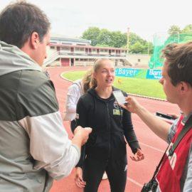 Gina Lückenkemper im Interview
