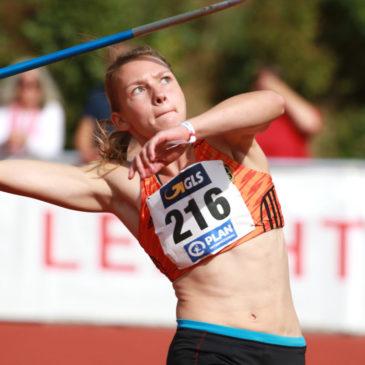Celina Leffler meldet sich mit Speerwurf-Bestleistung zurück