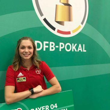 Gina Lückenkemper lässt den SV Rödinghausen jubeln