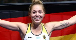 Gina Lückenkemper feiert EM-Silber in Berlin