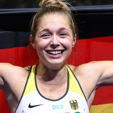 EM in Berlin: Gina Lückenkemper sprintet zu Silber