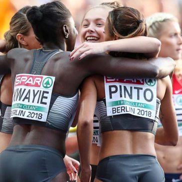 Gina Lückenkemper sprintet mit Staffel zu EM-Bronze