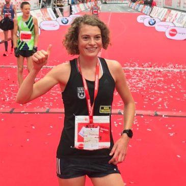 Citylauf Dresden: Alina Reh trotzt dem Wind und siegt mit Kursrekord