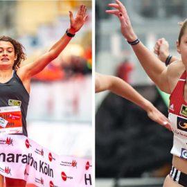 Alina Reh und Gina Lückenkemper