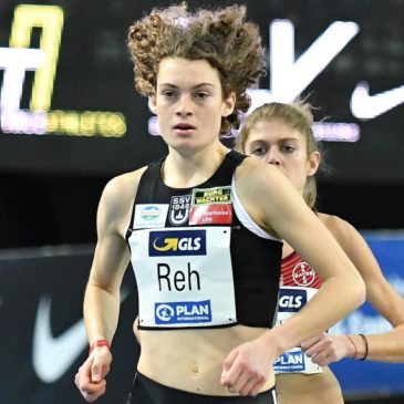 """Alina Reh: """"Ich hoffe in Glasgow auf ein schnelles Rennen"""""""