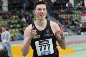 Luis Brandner Hallen-DM U20 Sindelfingen