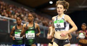 Alina Reh beim Indoor_meeting Karlsruhe IAAF World Indoor Tour
