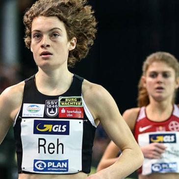 Hallen-DM: Alina Reh läuft mit Bestzeit zu Silber