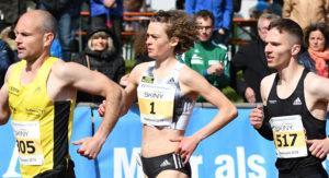 Alina Reh auf dem Weg zum Meetingrekord in Pliezhausen