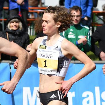 Bestzeit und Meetingrekord: Alina Reh glänzt in Pliezhausen
