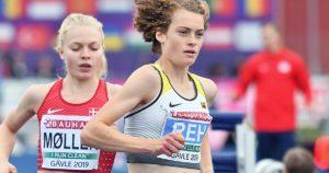 Zwölf Runden spürte Alina Reh den Atem ihrer Konkurrentin im Nacken: Auf den letzten 200 Metern zog Anna Emilie Möller an der Ulmerin vorbei und sicherte sich den 5000-Meter-Titel bei der U23-EM vor Alina Reh