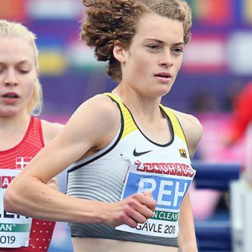 U23-EM: Alina Reh läuft zur zweiten Medaille