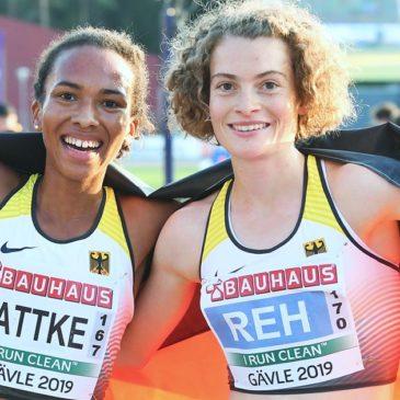 U23-EM: Alina Rehs 25-Runden-Solo zu Gold