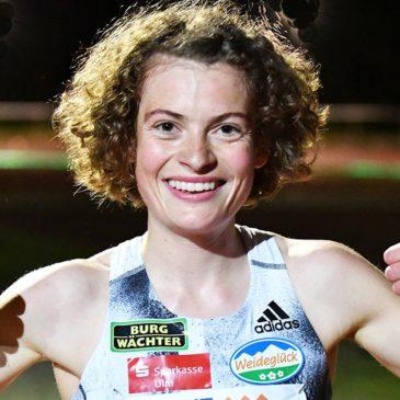Alina Reh läuft starke 31:26 Minuten beim Wettkampf-Comeback