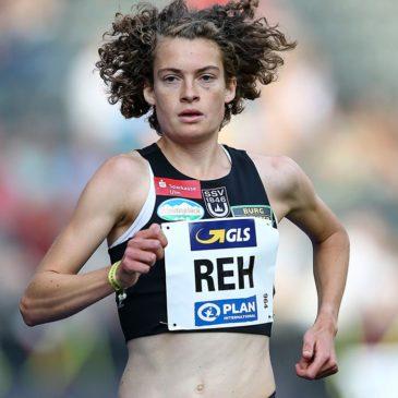 Sechs Sekunden fehlen Alina Reh zum 5-Kilometer-Rekord