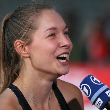Gina Lückenkemper sprintet zu DM-Silber