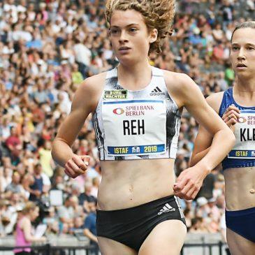 ISTAF: Alina Reh führt nach Sturz-Pech Hanna Klein zur WM-Norm