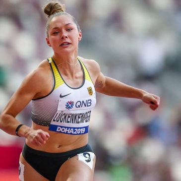 Gina Lückenkemper läuft ins WM-Halbfinale